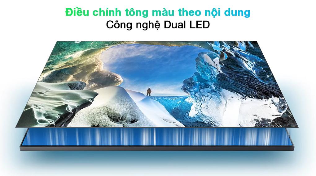 Smart Tivi QLED 4K 65 inch Samsung QA65Q70A Công nghệ Dual LED
