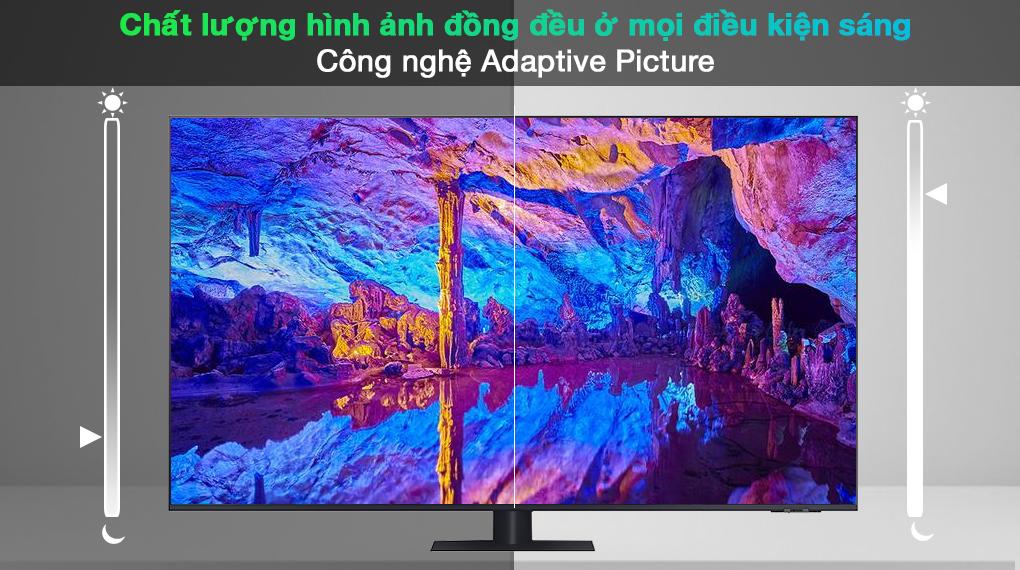 Smart Tivi QLED 4K 65 inch Samsung QA65Q70A Công nghệ Adaptive Picture