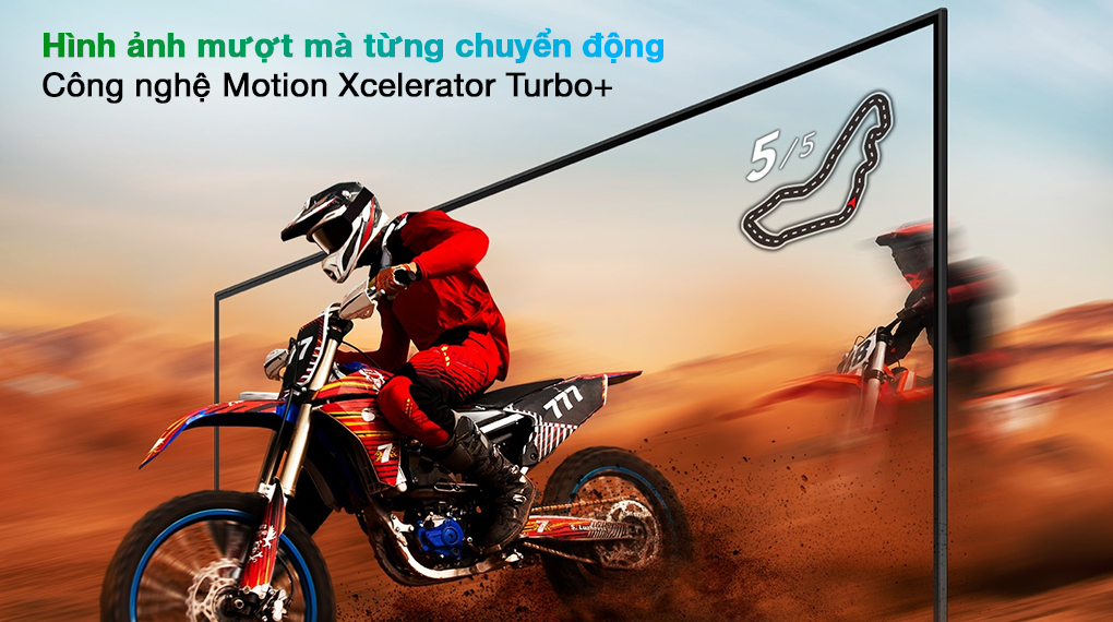 Smart Tivi QLED 4K 65 inch Samsung QA65Q70A Motion Xceleratoir Turbo+