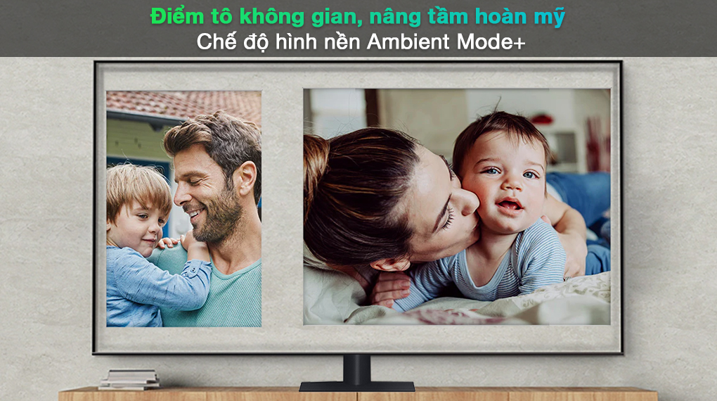 Smart Tivi QLED 4K 65 inch Samsung QA65Q70A Ambient Mode+