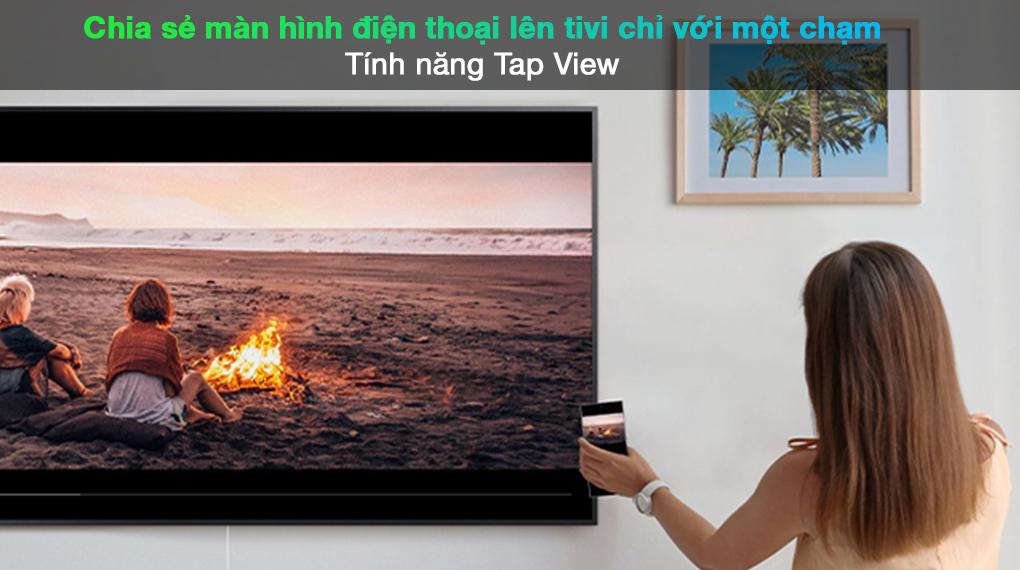 Smart Tivi QLED 4K 65 inch Samsung QA65Q70A tính năng Tap View