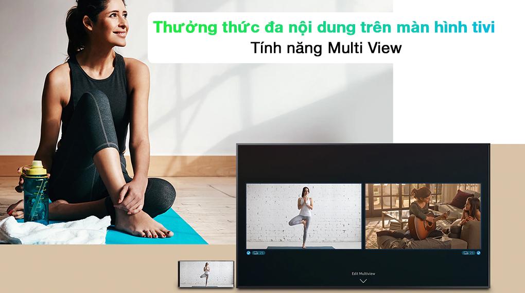 Smart Tivi QLED 4K 65 inch Samsung QA65Q70A Tính năng Multi View