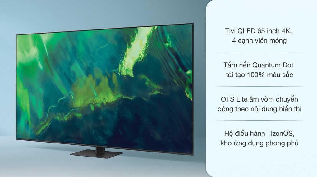 Smart Tivi QLED 4K 65 inch Samsung QA65Q70A