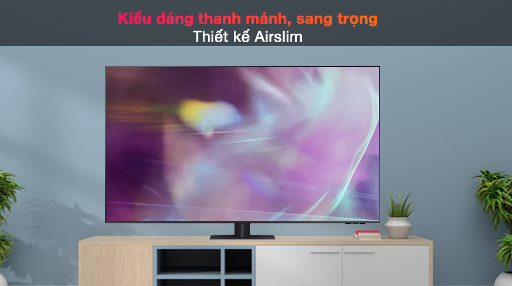 Smart Tivi QLED 4K 75 inch Samsung QA75Q70A - Thiết kế