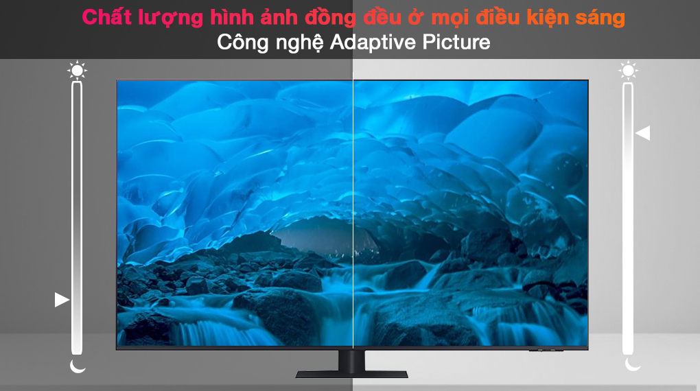 Smart Tivi QLED 4K 75 inch Samsung QA75Q70A - Adaptive Picture