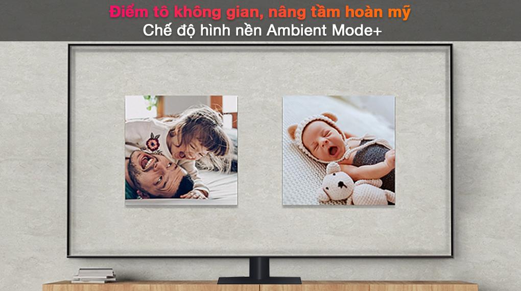 Smart Tivi QLED 4K 75 inch Samsung QA75Q70A - Ambient Mode+