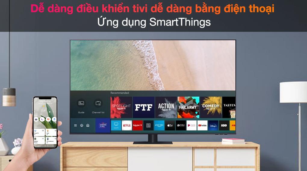 Smart Tivi QLED 4K 75 inch Samsung QA75Q70A - SmartThings
