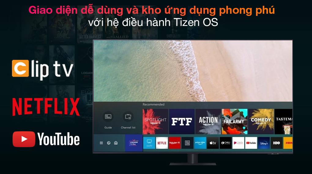 Smart Tivi QLED 4K 75 inch Samsung QA75Q70A - Tizen OS