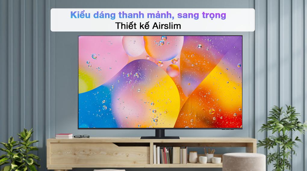 Smart Tivi QLED 4K 85 inch Samsung QA85Q70A - AirSlim