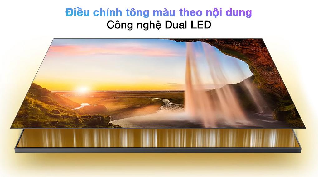 Smart Tivi QLED 4K 85 inch Samsung QA85Q70A  - Dual LED