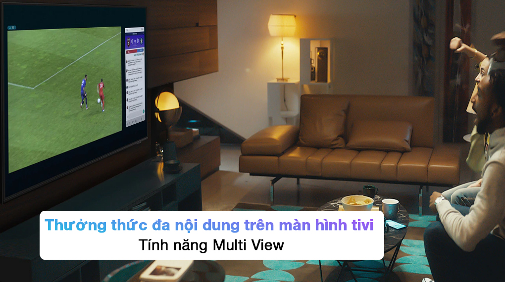 Smart Tivi QLED 4K 85 inch Samsung QA85Q70A  - Multi View
