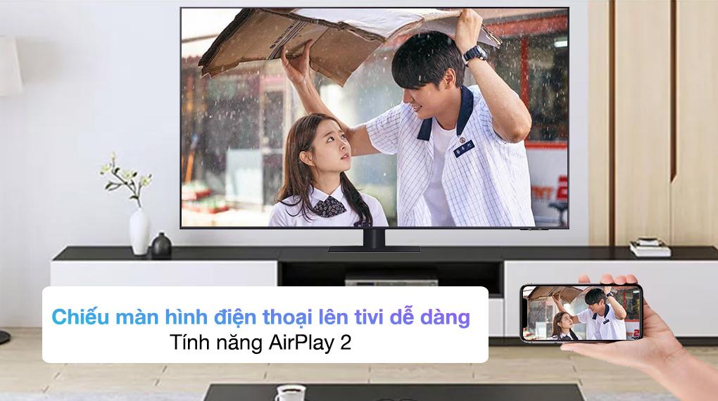 Smart Tivi QLED 4K 85 inch Samsung QA85Q70A - AirPlay 2