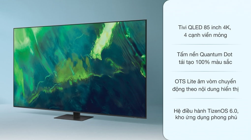 Smart Tivi QLED 4K 85 inch Samsung QA85Q70A