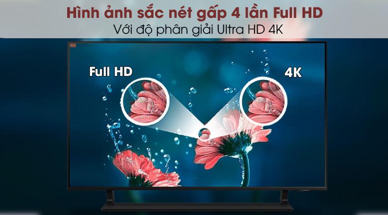 Smart Tivi QLED 4K 43 inch Samsung QA43Q65A - Độ phân giải 4K