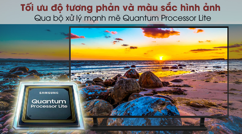 Smart Tivi QLED 4K 43 inch Samsung QA43Q65A - Quantum Processor Lite