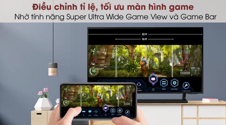 Smart Tivi QLED 4K 43 inch Samsung QA43Q65A - Super Ultra Wide Game View và Game Bar