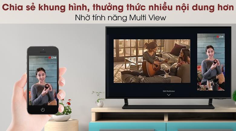 Smart Tivi QLED 4K 43 inch Samsung QA43Q65A - Multi View