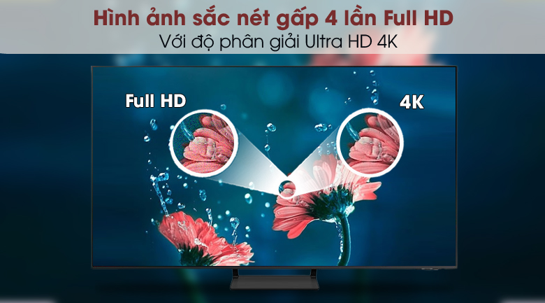 Smart Tivi QLED 4K 43 inch Samsung QA43Q65A - 4K