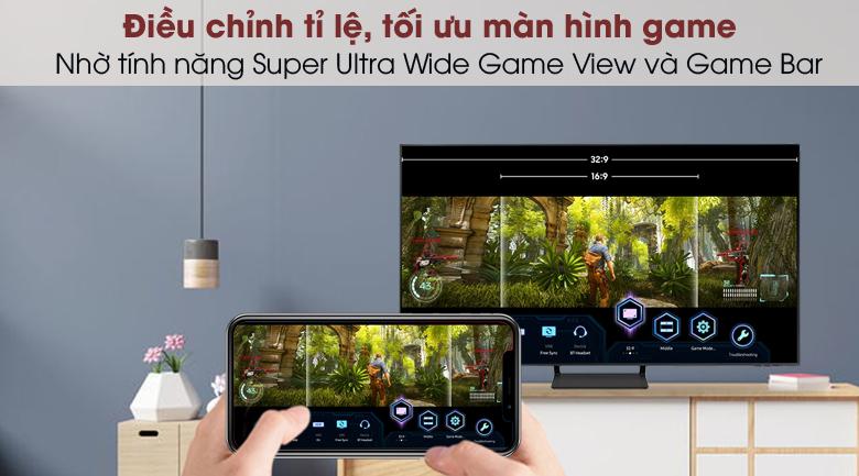 Smart Tivi QLED 4K 43 inch Samsung QA43Q65A - Game Bar