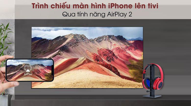Smart Tivi QLED 4K 43 inch Samsung QA43Q65A - AirPlay 2