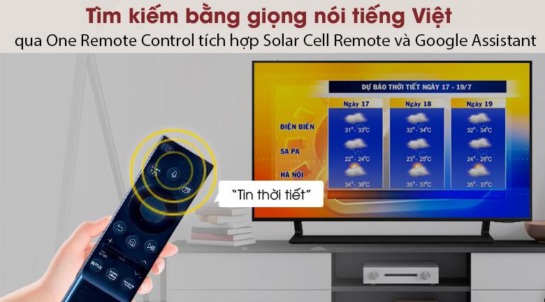 Smart Tivi QLED 4K 43 inch Samsung QA43Q65A remote
