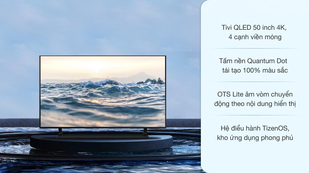Smart Tivi QLED 4K 50 inch Samsung QA50Q65A
