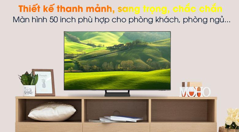 Thiết kế - Smart Tivi QLED 4K 50 inch Samsung QA50Q65A