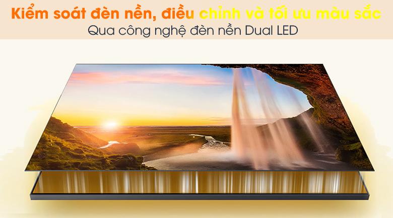 Dual LED - Smart Tivi QLED 4K 50 inch Samsung QA50Q65A