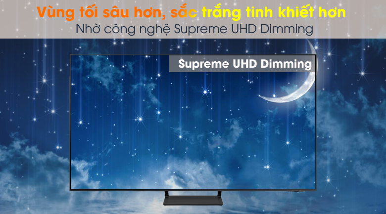 Supreme UHD Dimming - Smart Tivi QLED 4K 50 inch Samsung QA50Q65A