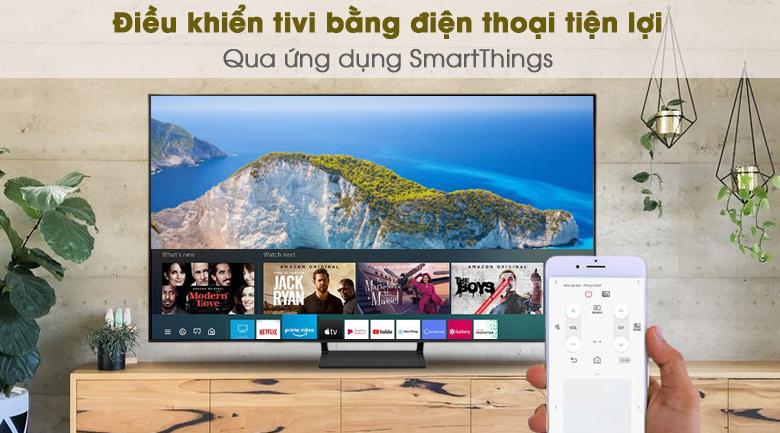 SmartThings - Smart Tivi QLED 4K 55 inch Samsung QA55Q65A