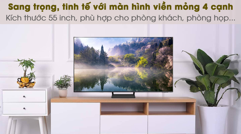 Thiết kế - Smart Tivi QLED 4K 55 inch Samsung QA55Q65A