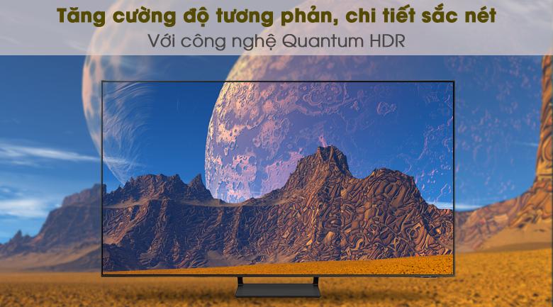 Quantum HDR - Smart Tivi QLED 4K 55 inch Samsung QA55Q65A
