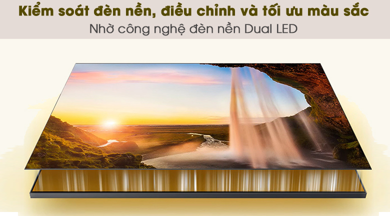 Dual LED - Smart Tivi QLED 4K 55 inch Samsung QA55Q65A