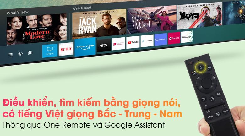 Smart Tivi QLED 4K 65 inch Samsung QA65Q65A - One Remote