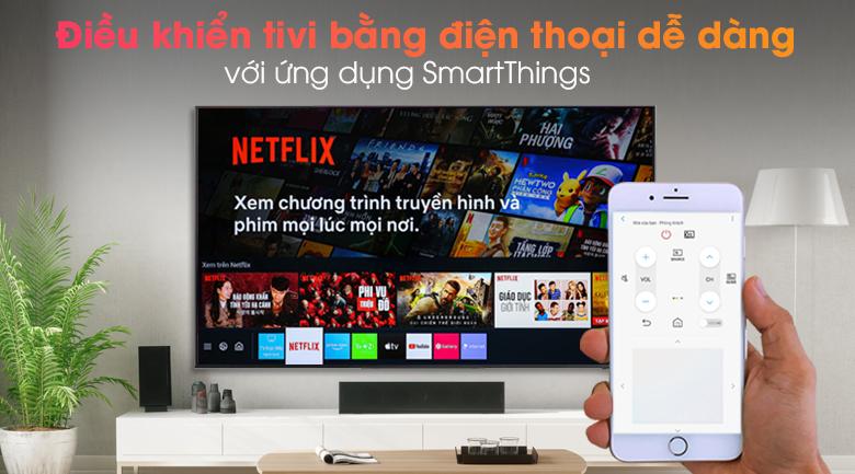 Smart Tivi QLED 4K 65 inch Samsung QA65Q65A - SmartThings