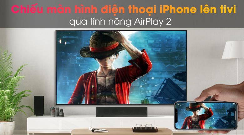 Smart Tivi QLED 4K 65 inch Samsung QA65Q65A - AirPlay 2