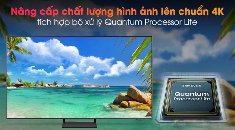 Smart Tivi QLED 4K 65 inch Samsung QA65Q65A - Bộ xử lý Quantum Processor Lite