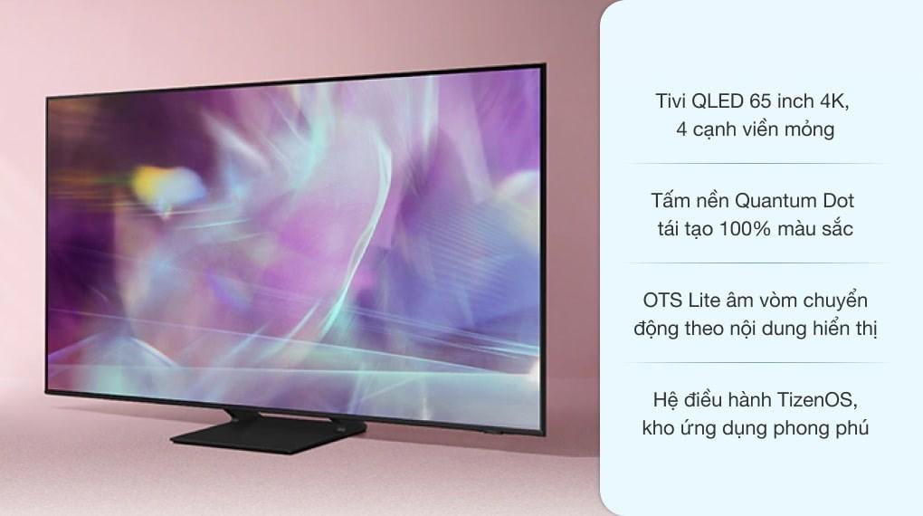 Smart Tivi QLED 4K 65 inch Samsung QA65Q65A