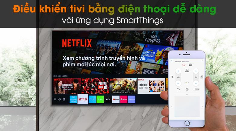 Smart Tivi QLED 4K 75 inch Samsung QA75Q65A - SmartThings
