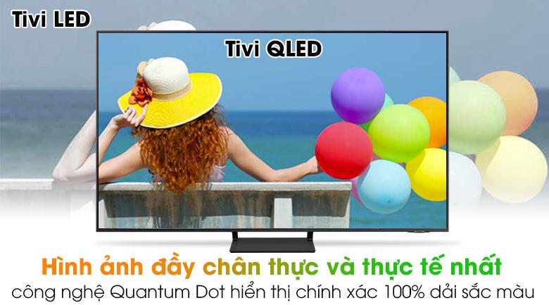 Smart Tivi QLED 4K 75 inch Samsung QA75Q65A - Quantum Dot