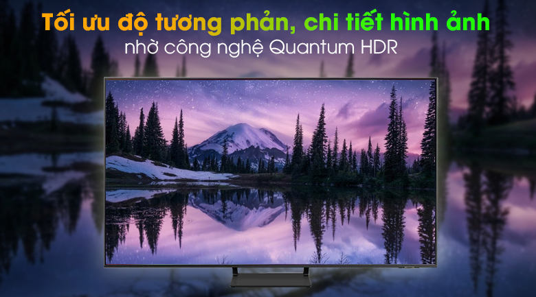 Smart Tivi QLED 4K 75 inch Samsung QA75Q65A - Quantum HDR