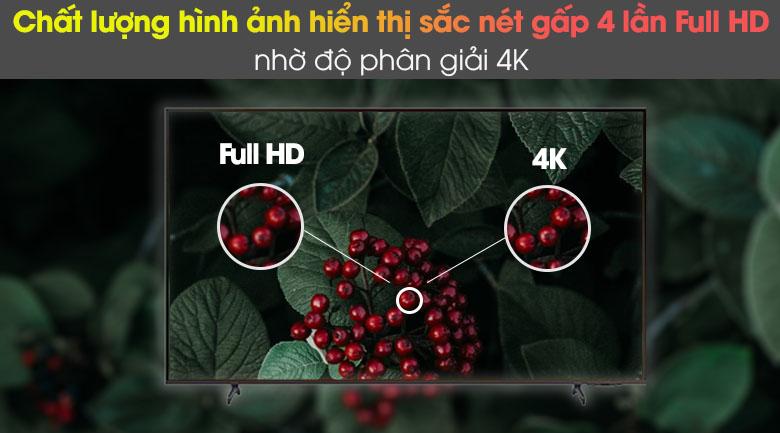 Smart Tivi Samsung 4K 43 inch UA43AU8100
