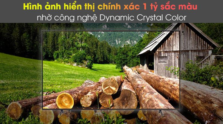 Dynamic Crystal Color - Smart Tivi Samsung 4K 43 inch UA43AU8100