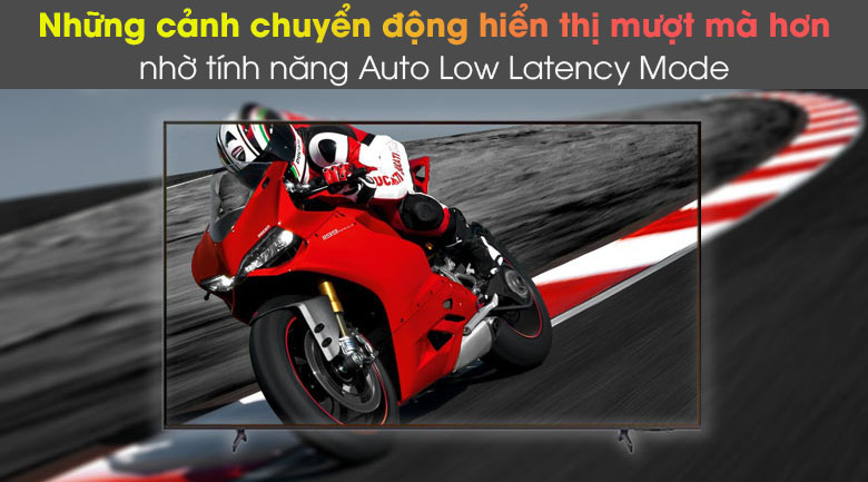 Auto Low Latency Mode - Smart Tivi Samsung 4K 43 inch UA43AU8100