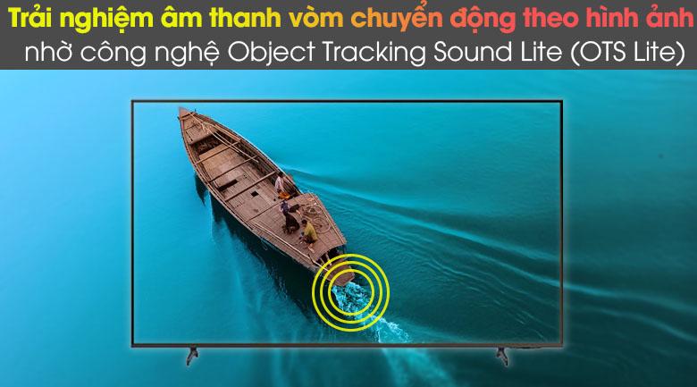Object Tracking Sound (OTS Lite) - Smart Tivi Samsung 4K 43 inch UA43AU8100