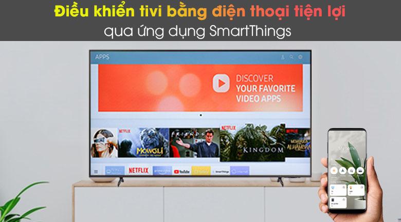 SmartThings - Smart Tivi Samsung 4K 43 inch UA43AU8100