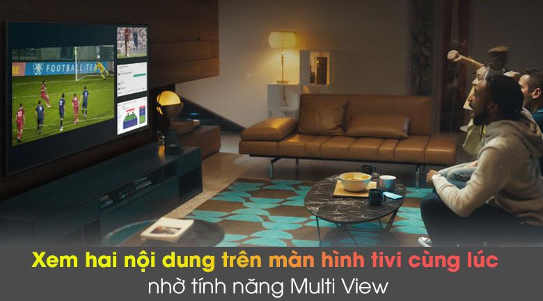 Multi View - Smart Tivi Samsung 4K 43 inch UA43AU8100