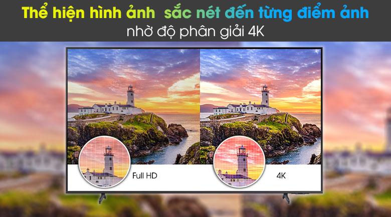 Tivi LED 4K Samsung UA55AU8100 - 4K