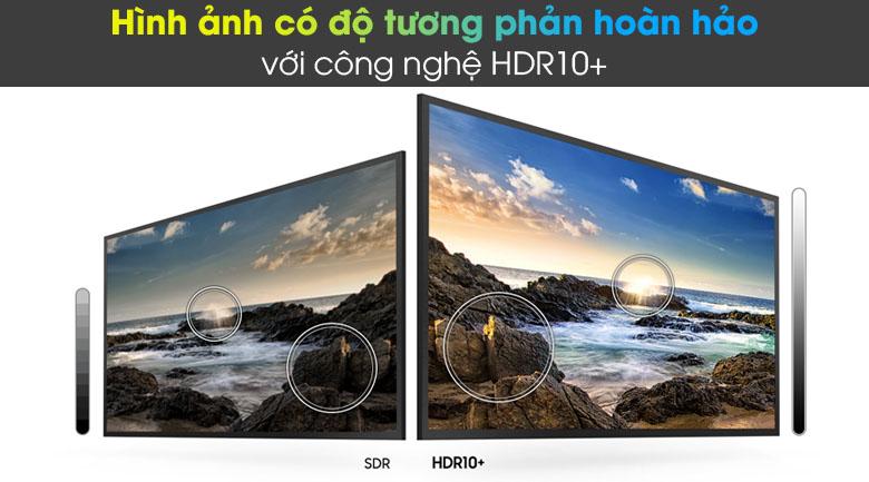 Tivi LED 4K Samsung UA55AU8100 - HDR