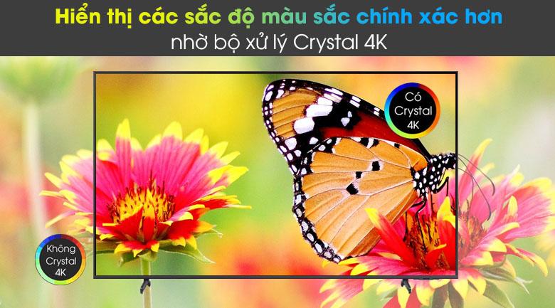 Tivi LED 4K Samsung UA55AU8100 - Crystal 4K